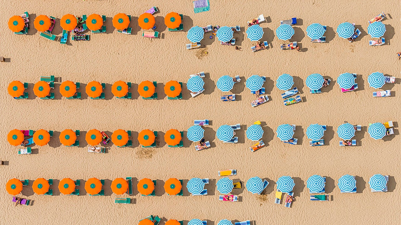 Incredible Colorful Beach Aerials (PHOTOS)