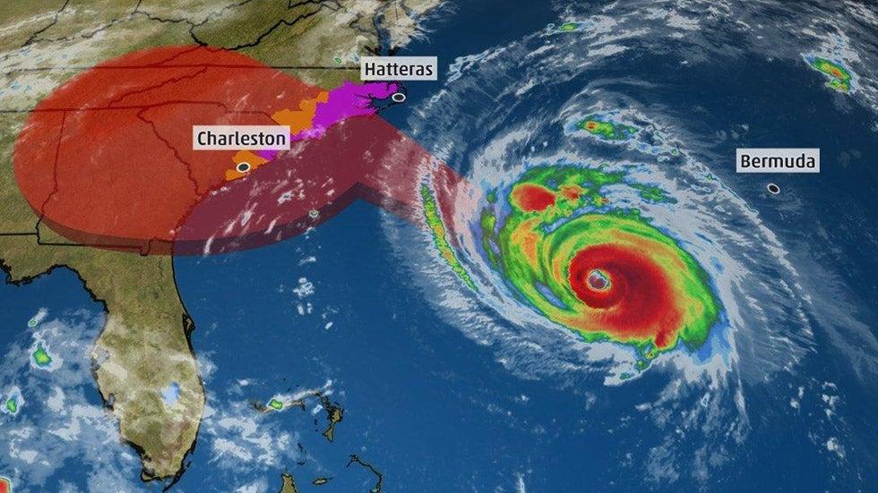 tracking hurricane florence   u0026 39 storm of a lifetime u0026 39