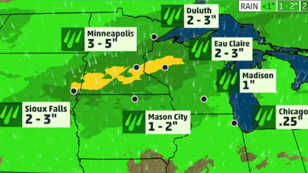 Severe Storms Create Possible Flash Flood Threat to the Midwest