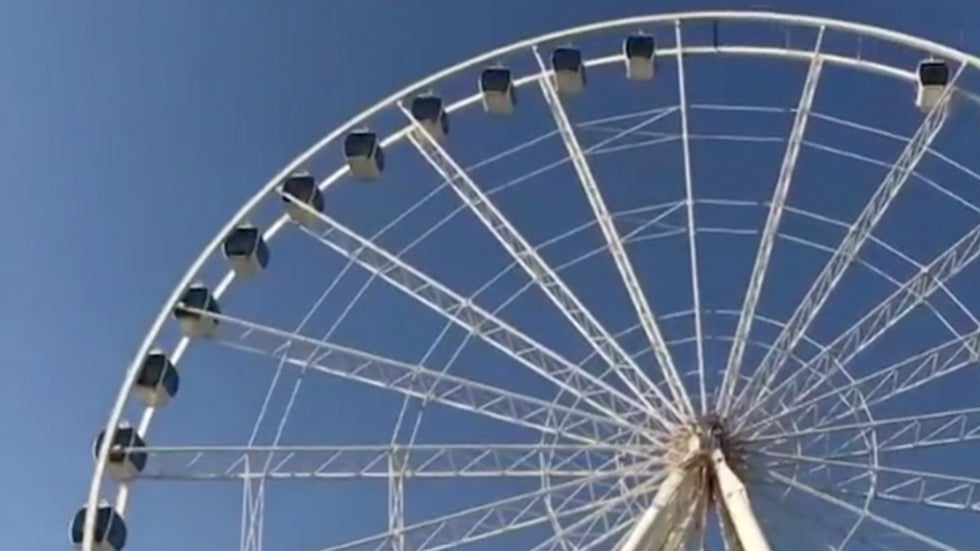 Myrtle Beach SkyWheel Comes Back to Life after Florence