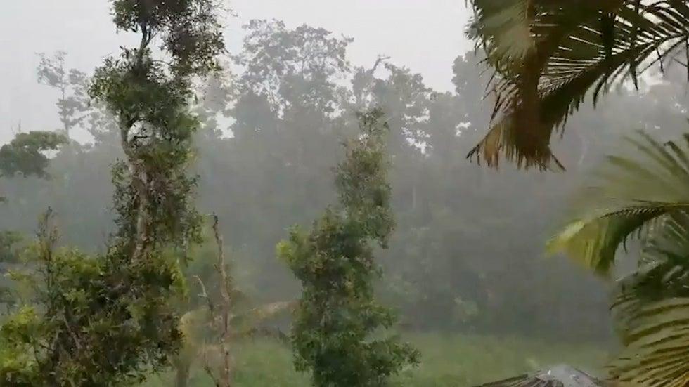quake rattles puerto rico as tropical storm karen nears