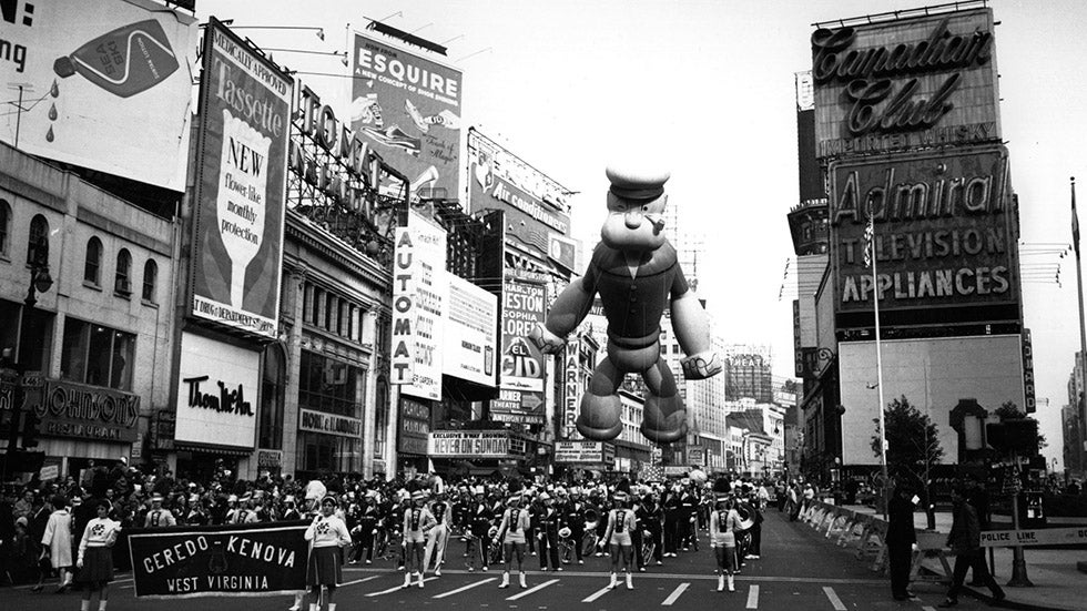 Macy's Thanksgiving Day Parade: A Look Back (PHOTOS)