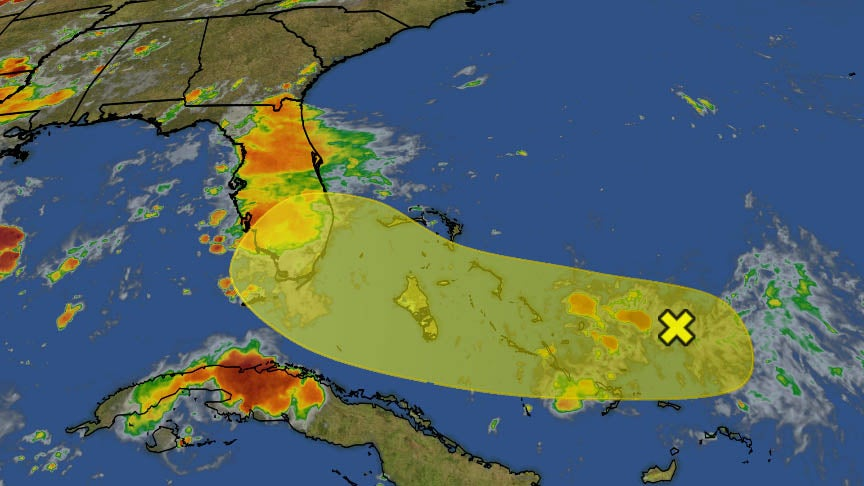 Invest 94L Is Unlikely to Develop in the Atlantic But Will Enhance Moisture in Florida
