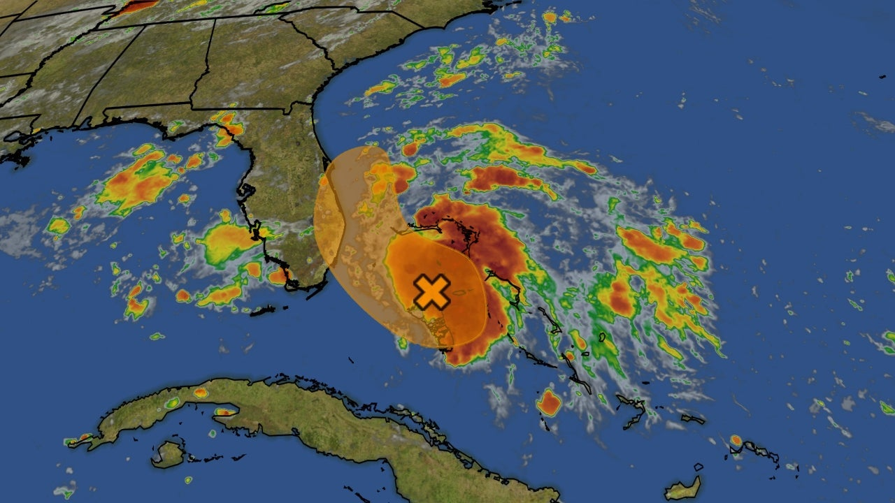 Invest 94L Could Develop Into a Tropical Depression Near or East of Florida