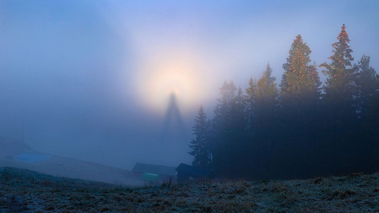 Rare Phenomenon Seen In Norwegian Hills The Weather Channel