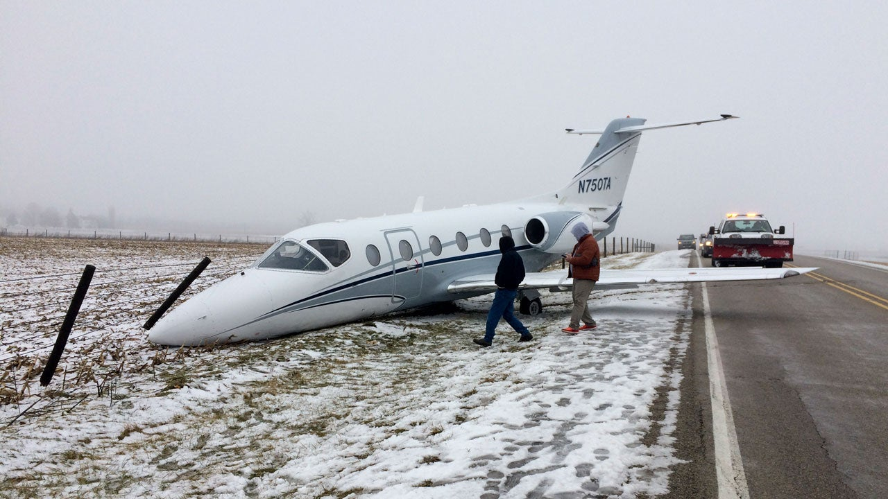 Winter Storm Maya Moves into Midwest: Small Plane Slides off Indiana Runway; Crashes Reported on Iowa Roads | The Weather Channel
