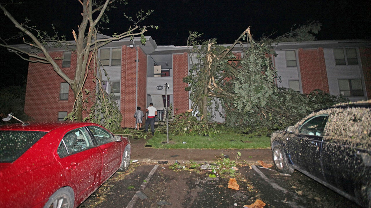 in ohio and indiana  overnight tornadoes leave behind