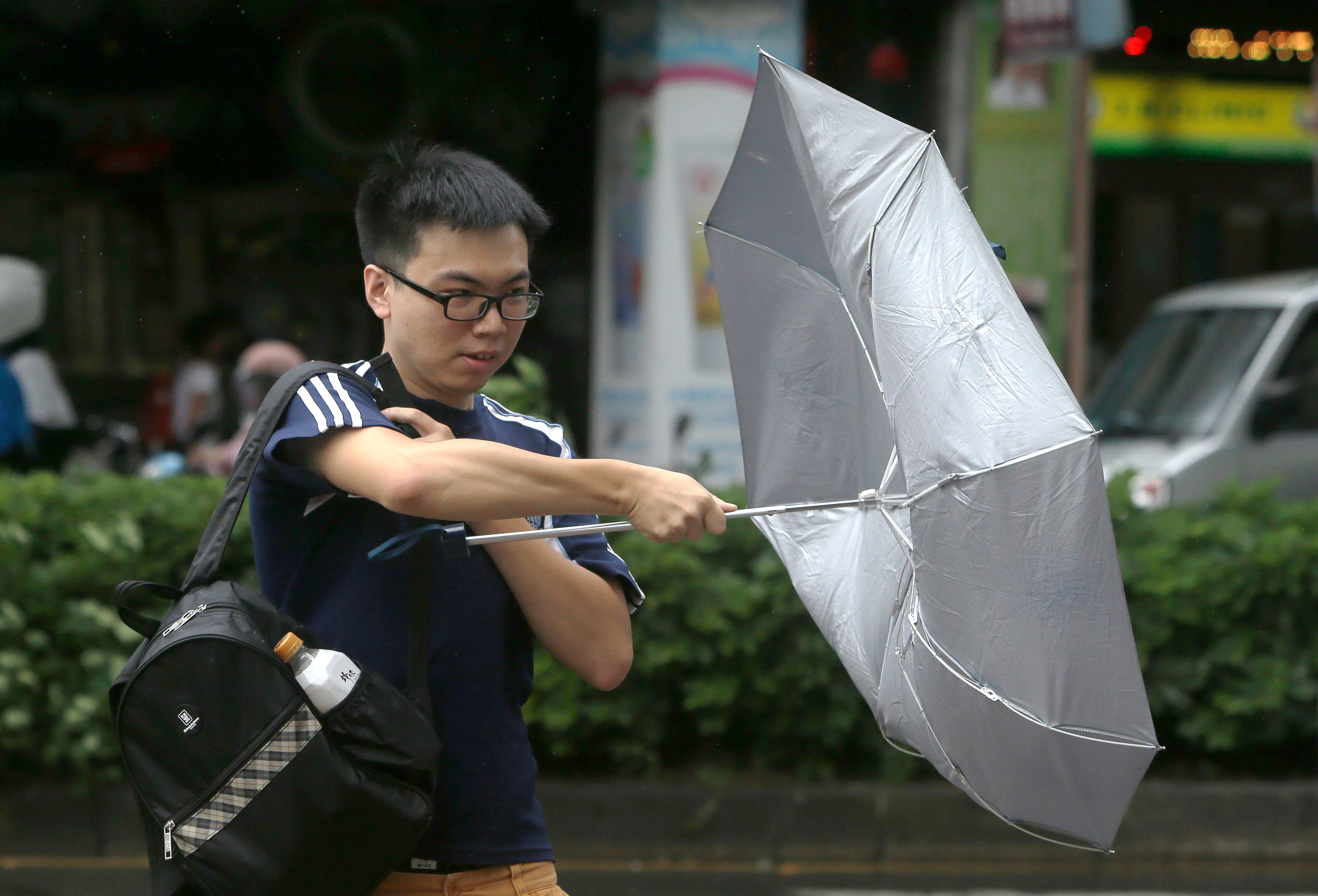Tropical Storm Bailu Drenches Taiwan, Injuring 6 and Trapping Tourists
