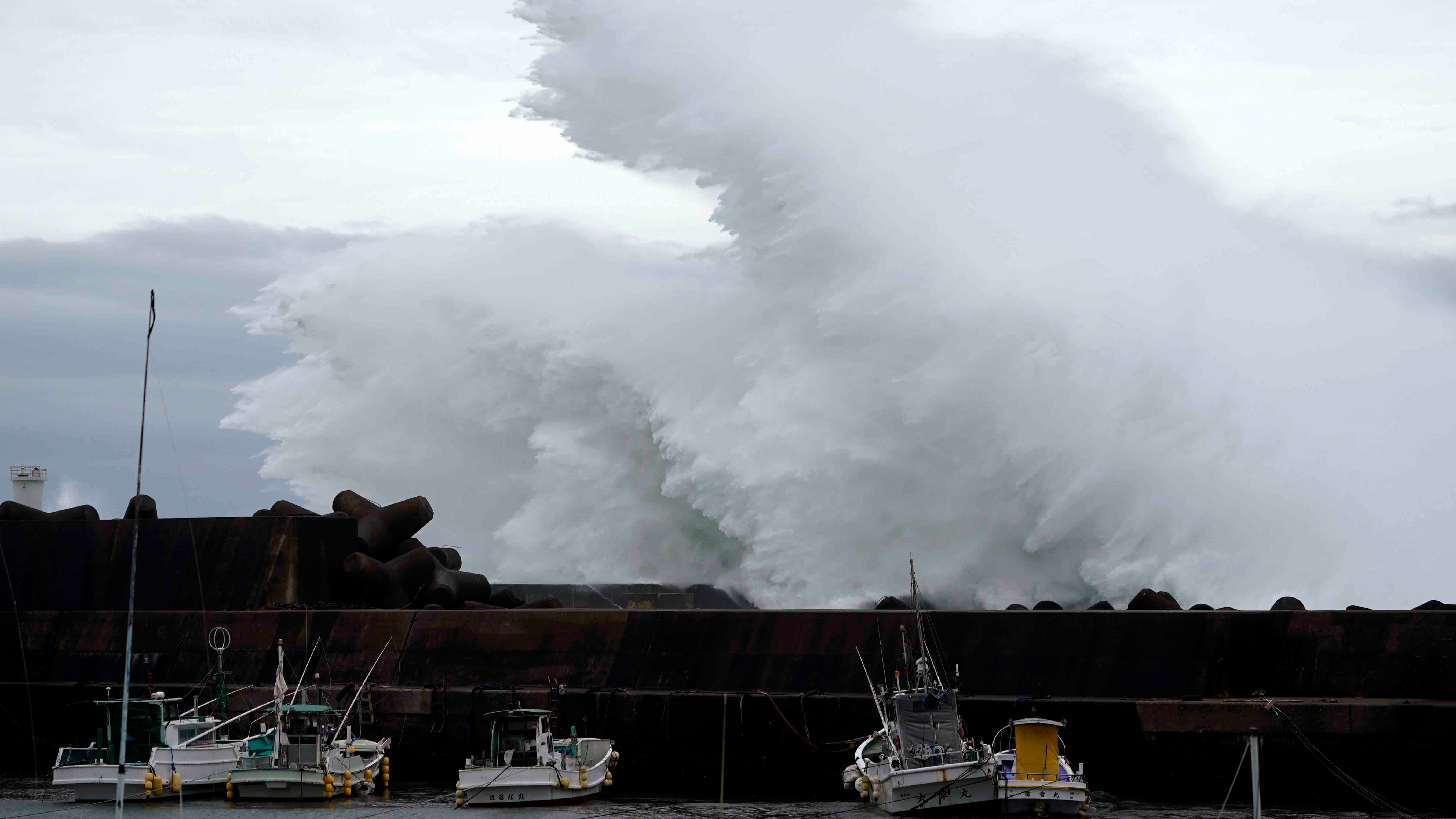 Japan Prepares for Typhoon Hagibis; Flights Canceled, Train Service Shut Down