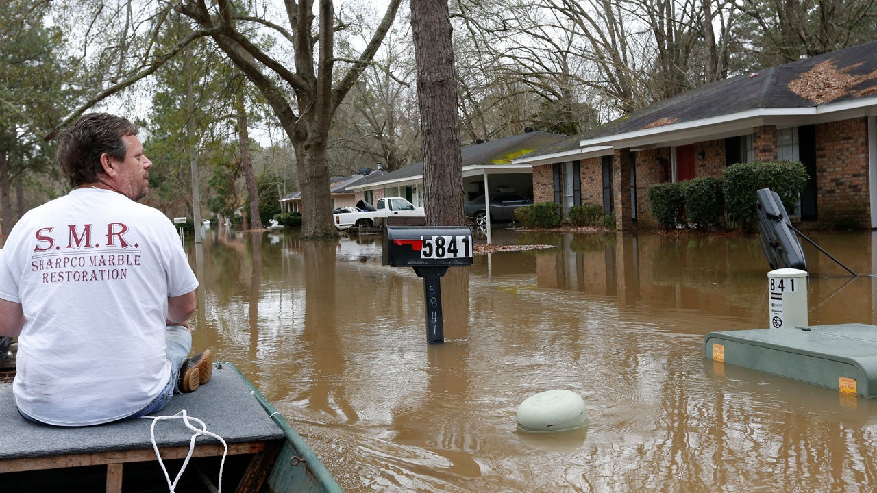 Half-Billion Gallons of Raw Sewage Leaked into Mississippi's Pearl River During Flooding, Heavy Rainfall