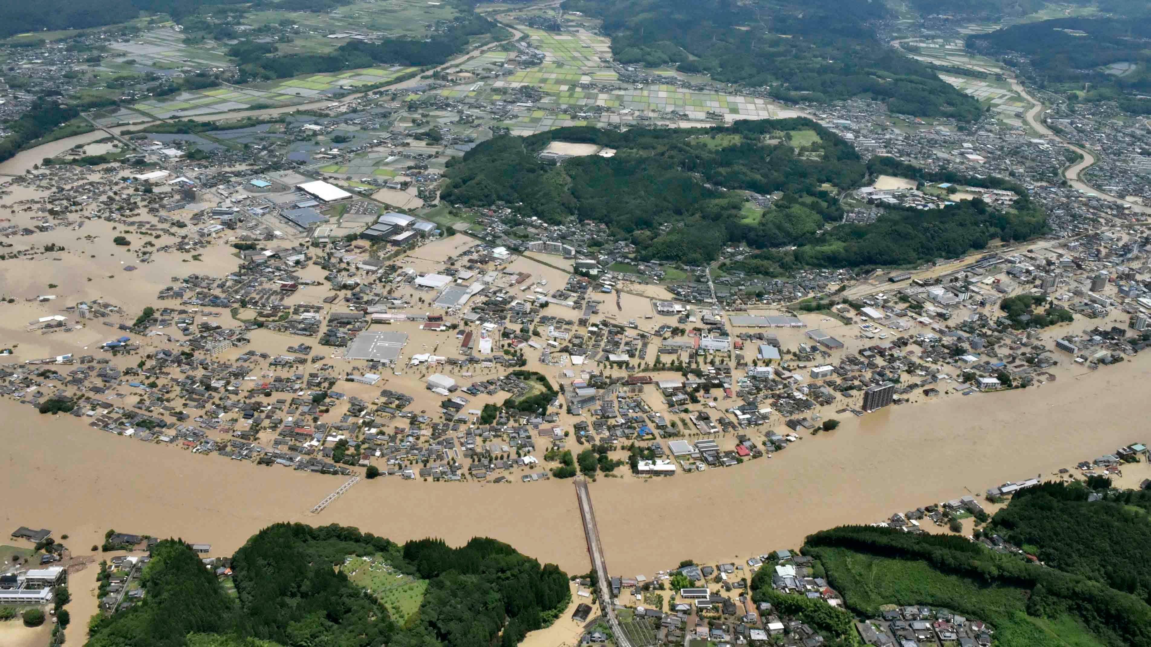 More Than a Dozen Presumed Dead in Japan Flooding