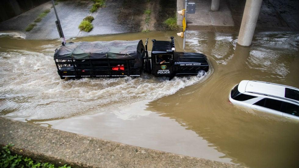 Photos of the Texas Flooding Disaster