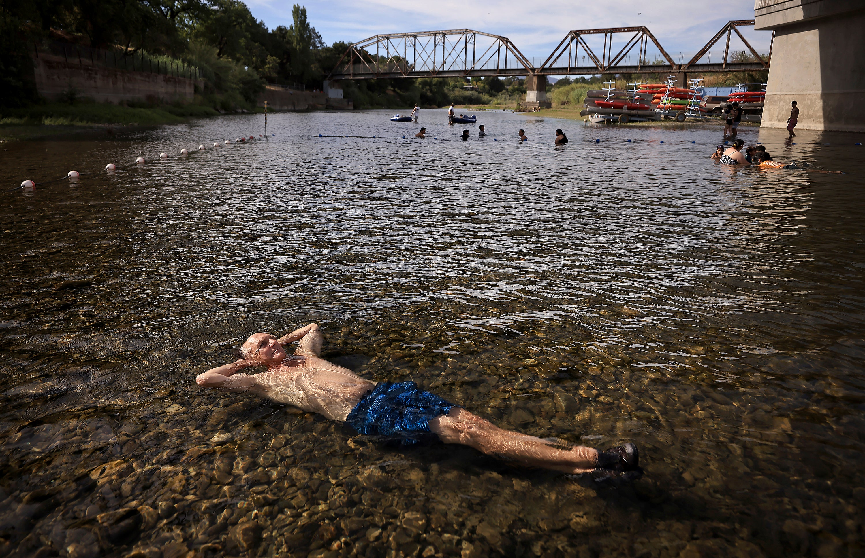 Photos from the Sweltering West