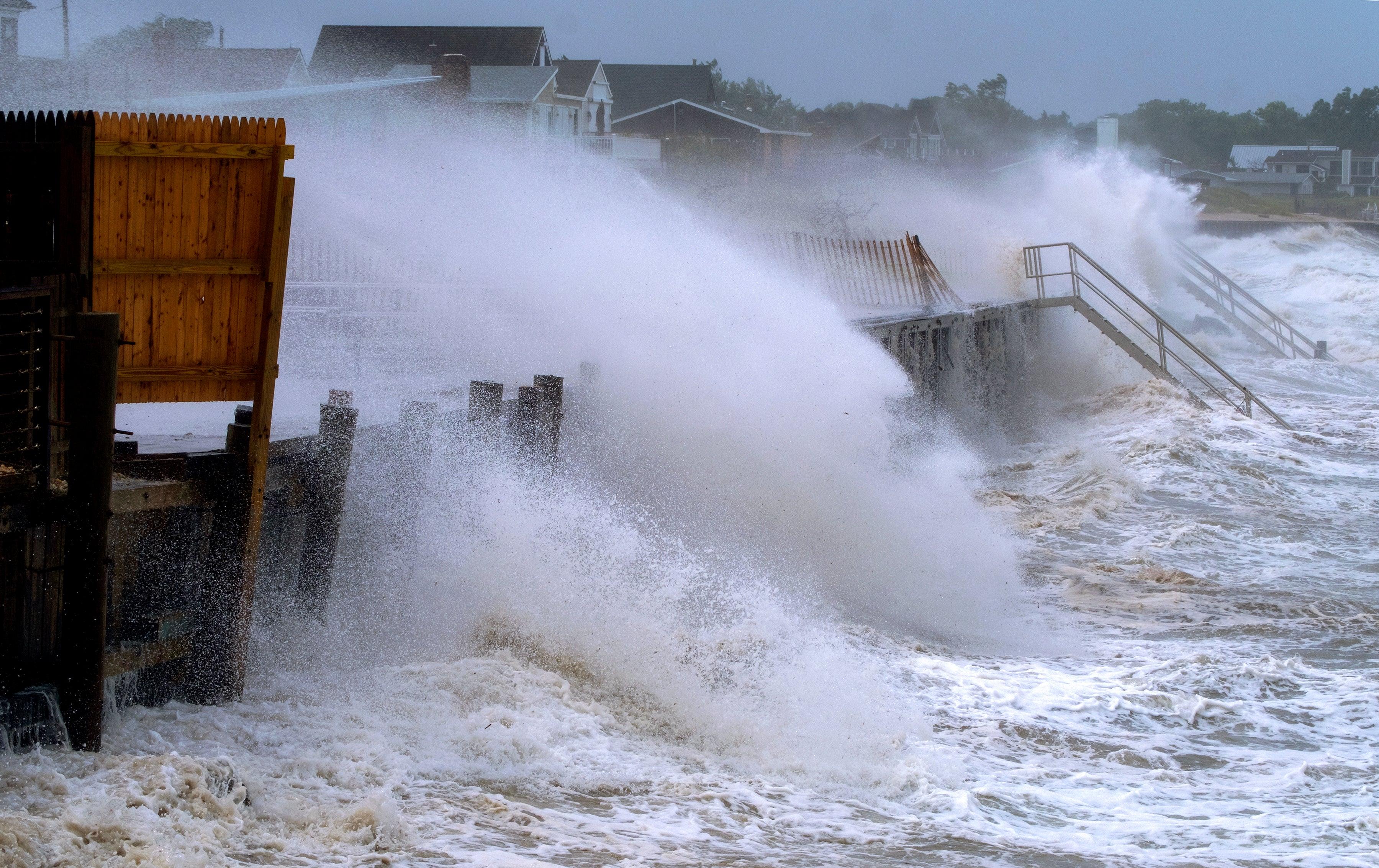 Tropical Storm Henri in Photos