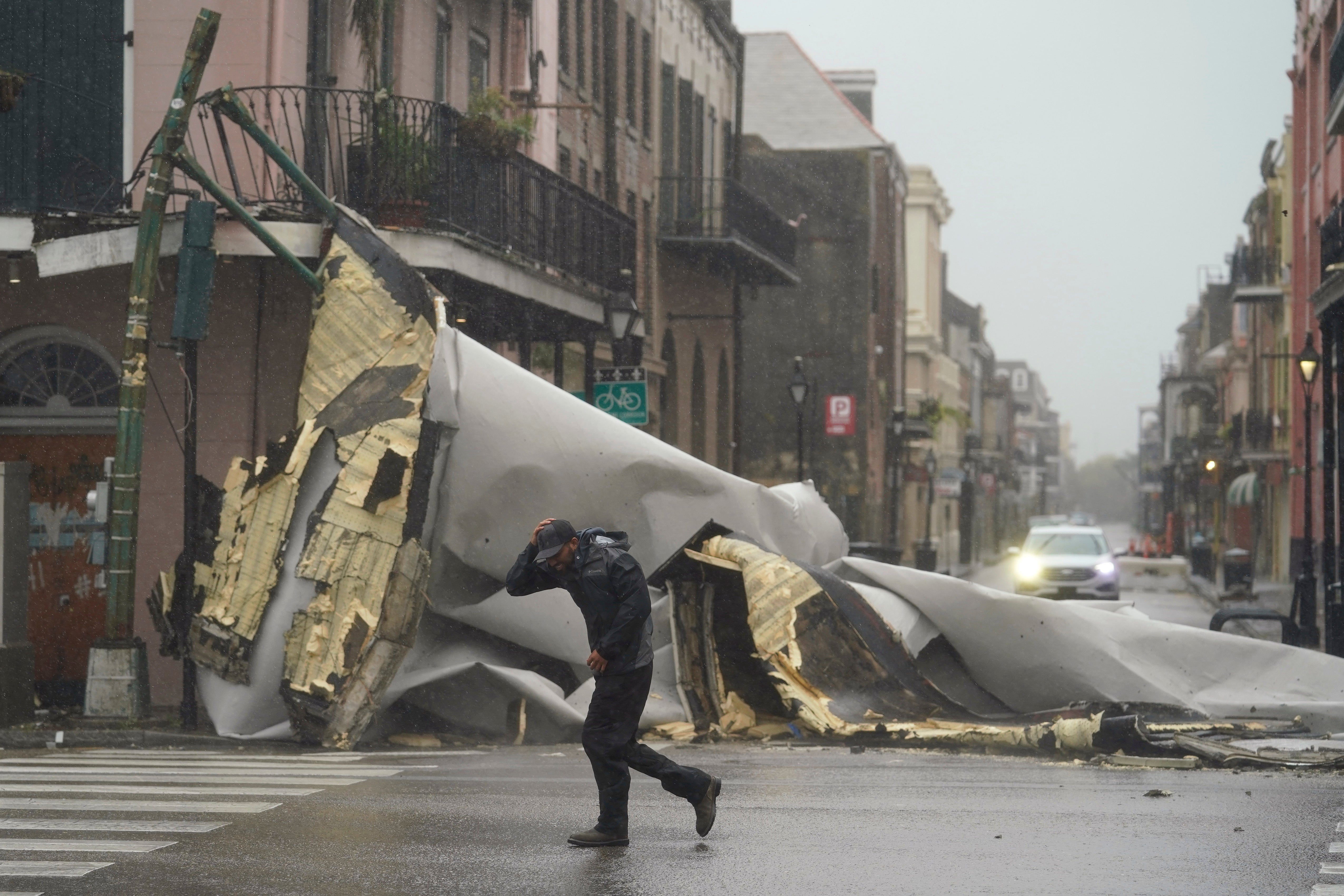 Hurricane Ida: Roads Flooded, Buildings Ripped Apart, Hundreds of Thousands Without Power in Louisiana   The Weather Channel - Articles from The Weather Channel   weather.com