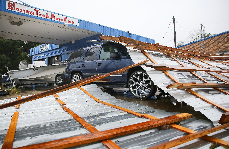 Tropical Storm Nicholas in Photos