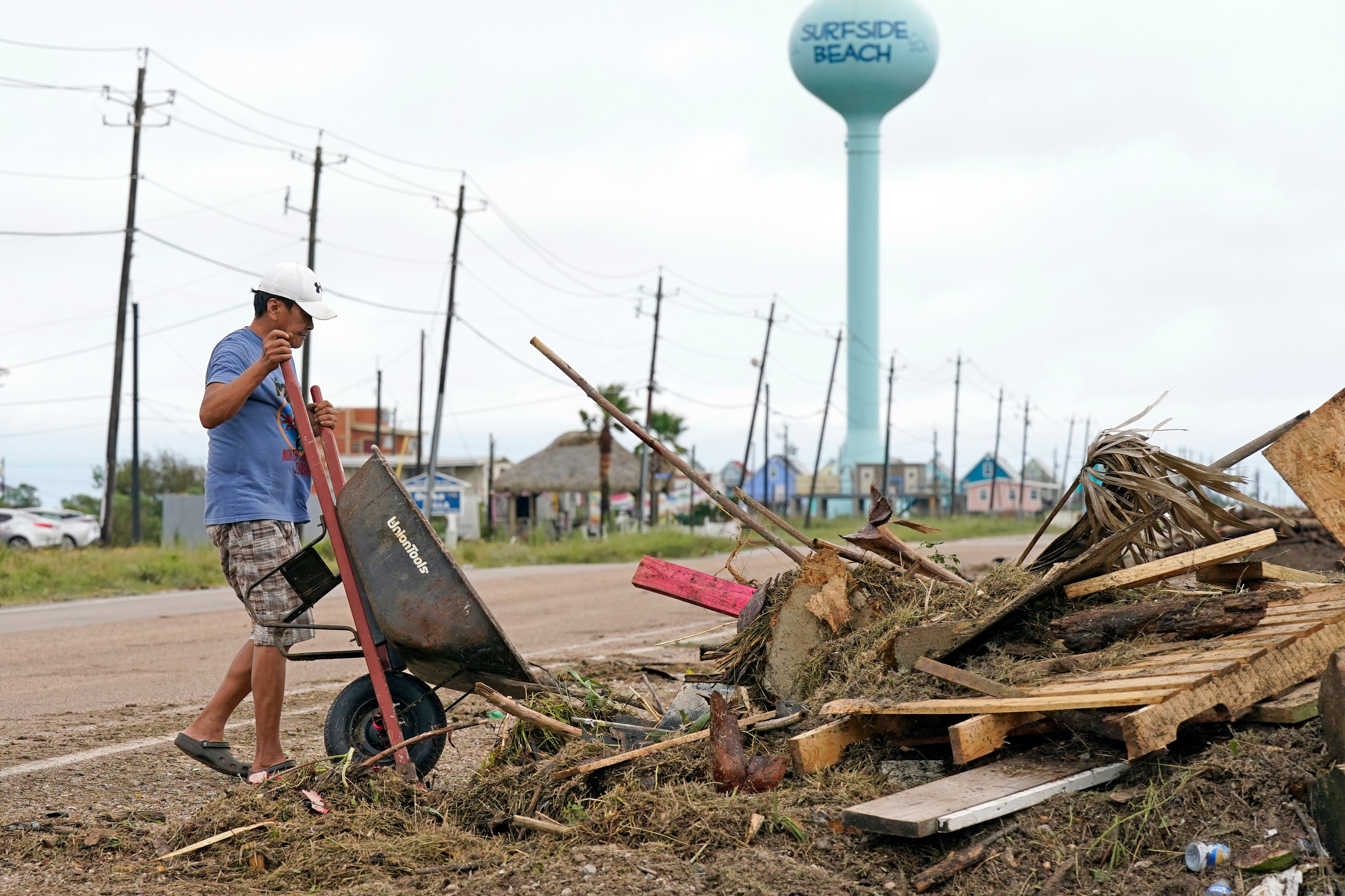 Nicholas Updates: Rain Hampers Ida Recovery Efforts; State Offices Closed Wednesday in Louisiana