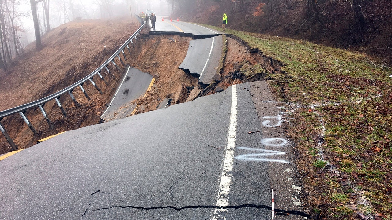 Devastating Landslide Wipes Out Highway, Killing 1 Person