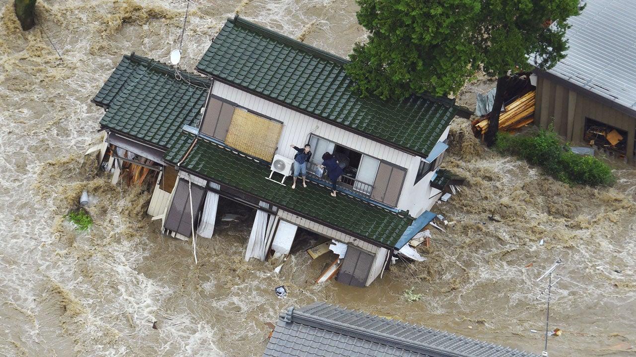 Tropical Storm Etau Devastates Japan (PHOTOS) | The ...