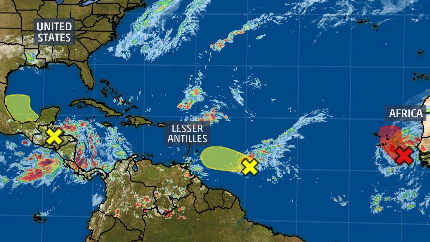 Hurricane Season Is Not Over Yet: Multiple Areas Are Being Monitored for Tropical Development This Week