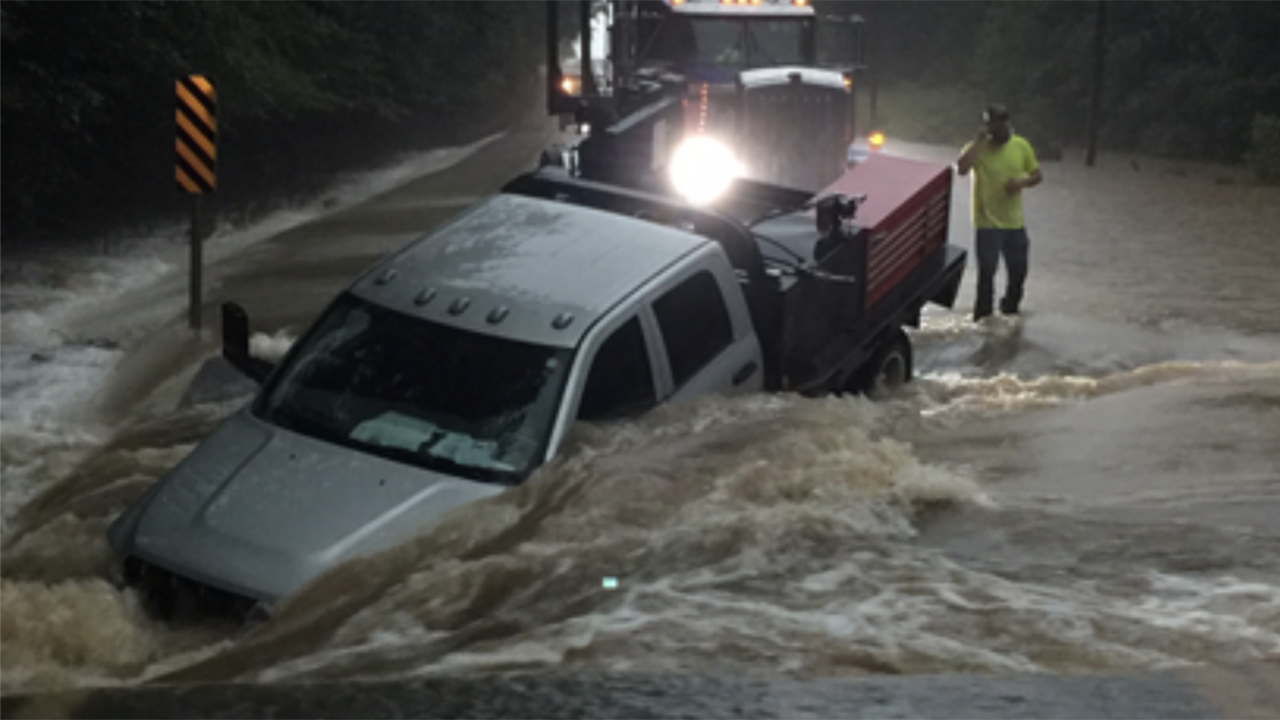 Barry Impacts: Flooding Swamps Arkansas Police Station and
