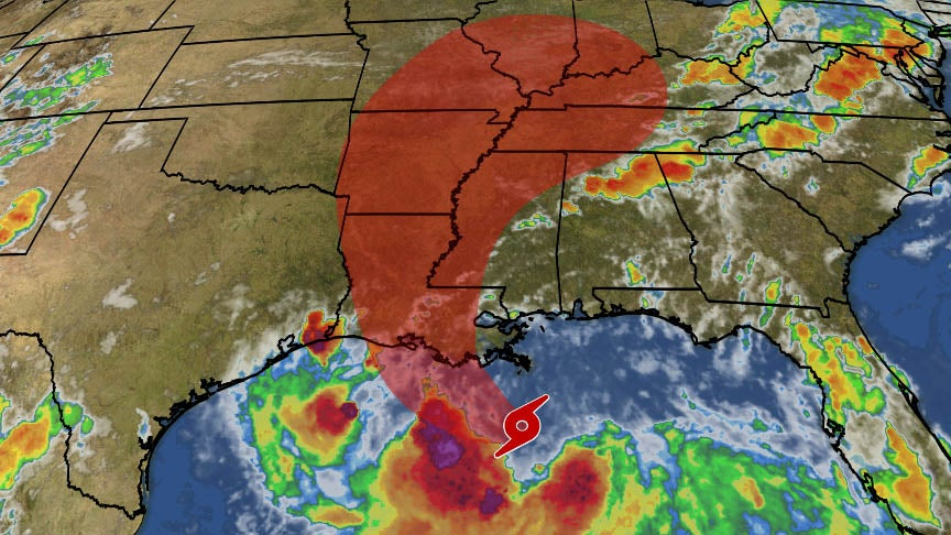 tropical storm barry to hammer gulf coast with major
