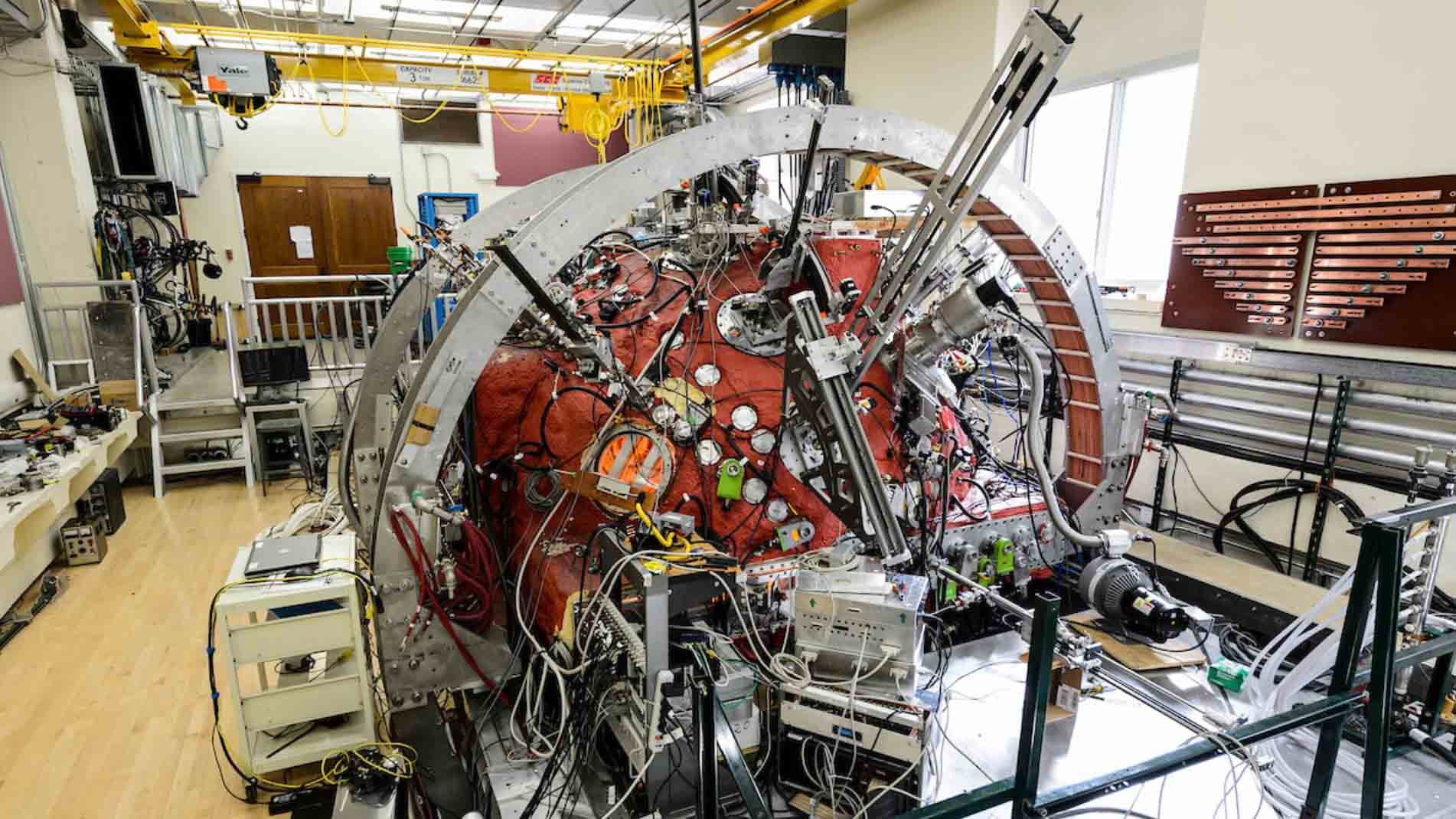 'Big Red Ball' Helps Scientists Mimic Solar Winds, Study Effects on Earth