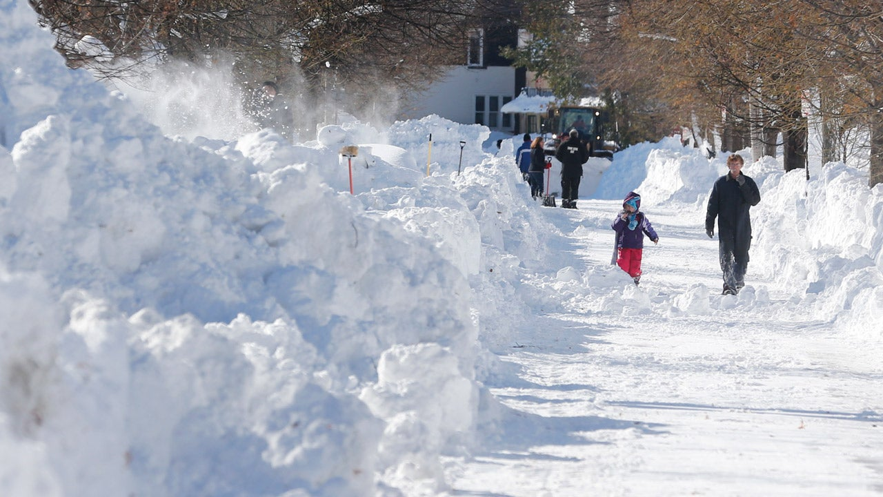 buffalo snow impacts  residents still digging out as flood