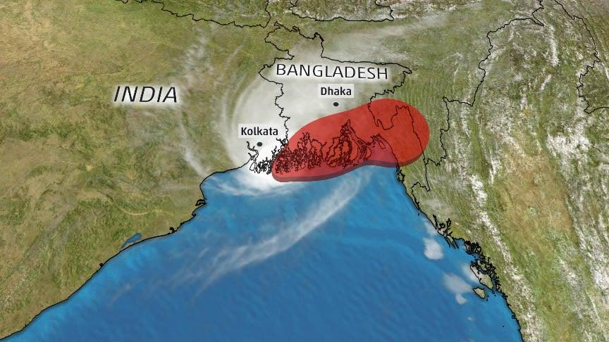 Cyclone Bulbul (Matmo) Makes Landfall in Eastern India; Flooding Rain, Storm Surge, Winds Extend into Bangladesh (RECAP)