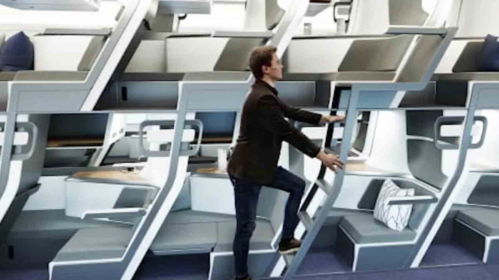 Airline Bunk Beds Could Be a Thing in the Future