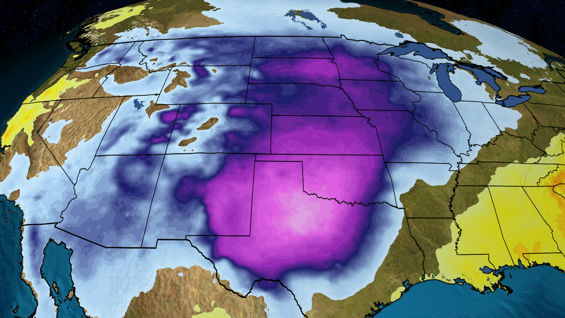 Waves of Record-Breaking Cold Coming