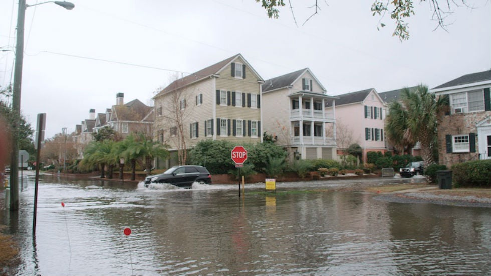 Scientists Working to Understand Sinking Land in Charleston, South Carolina   The Weather Channel