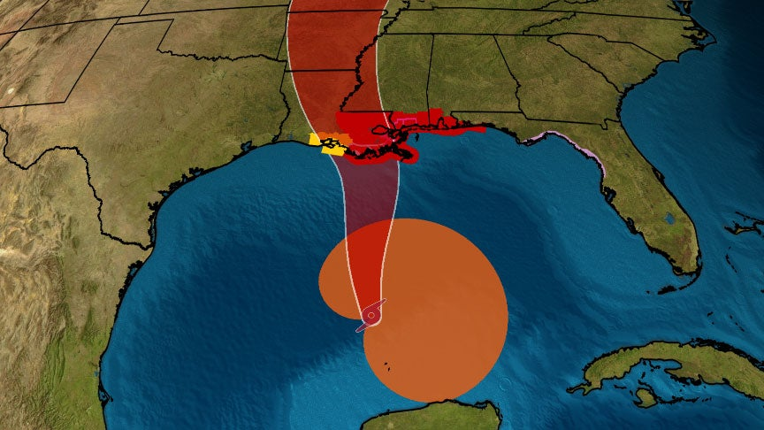 Tropical Storm Cristobal Continues to Move Towards Northern Gulf Coast