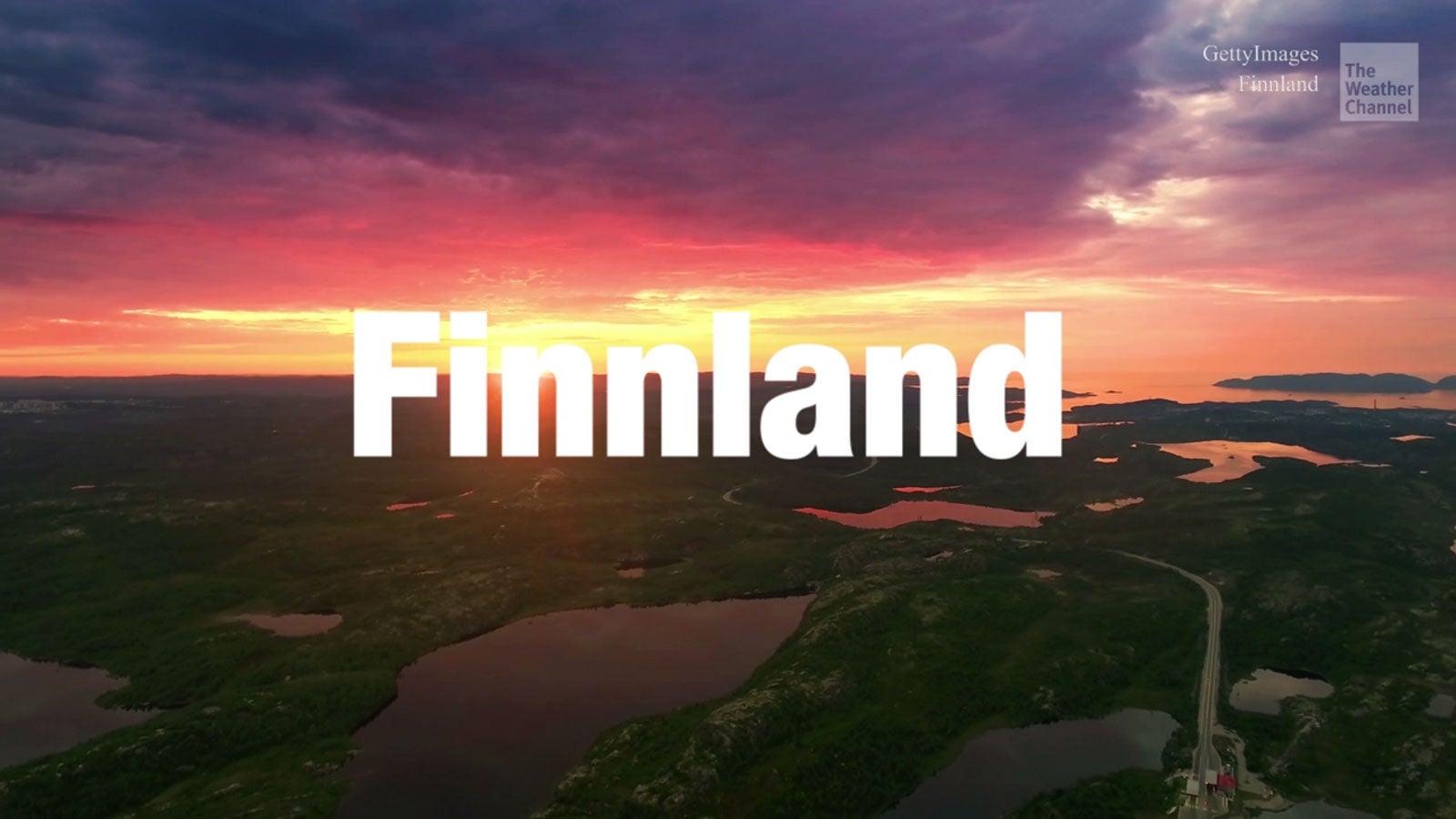 Virtuelle Reise durch Finnland