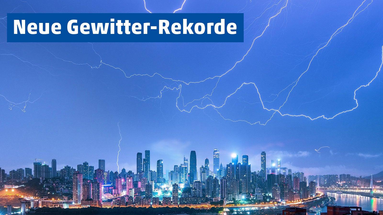 Rekord für längsten Blitz liegt jetzt bei über 700 Kilometern