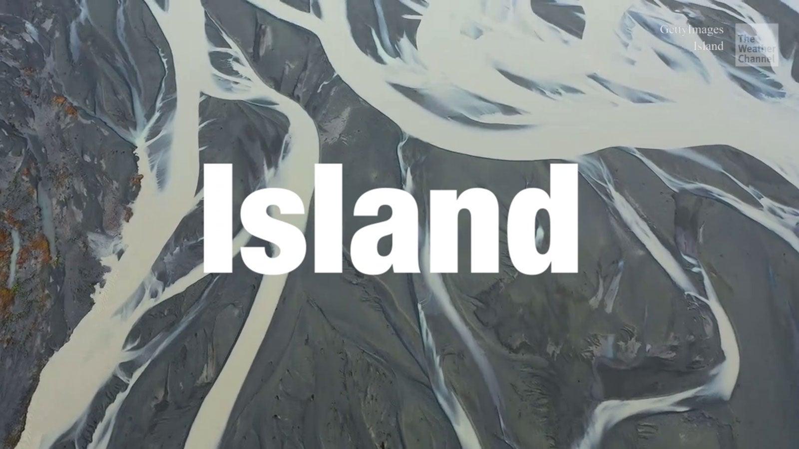 Virtuelle Reise durch Island