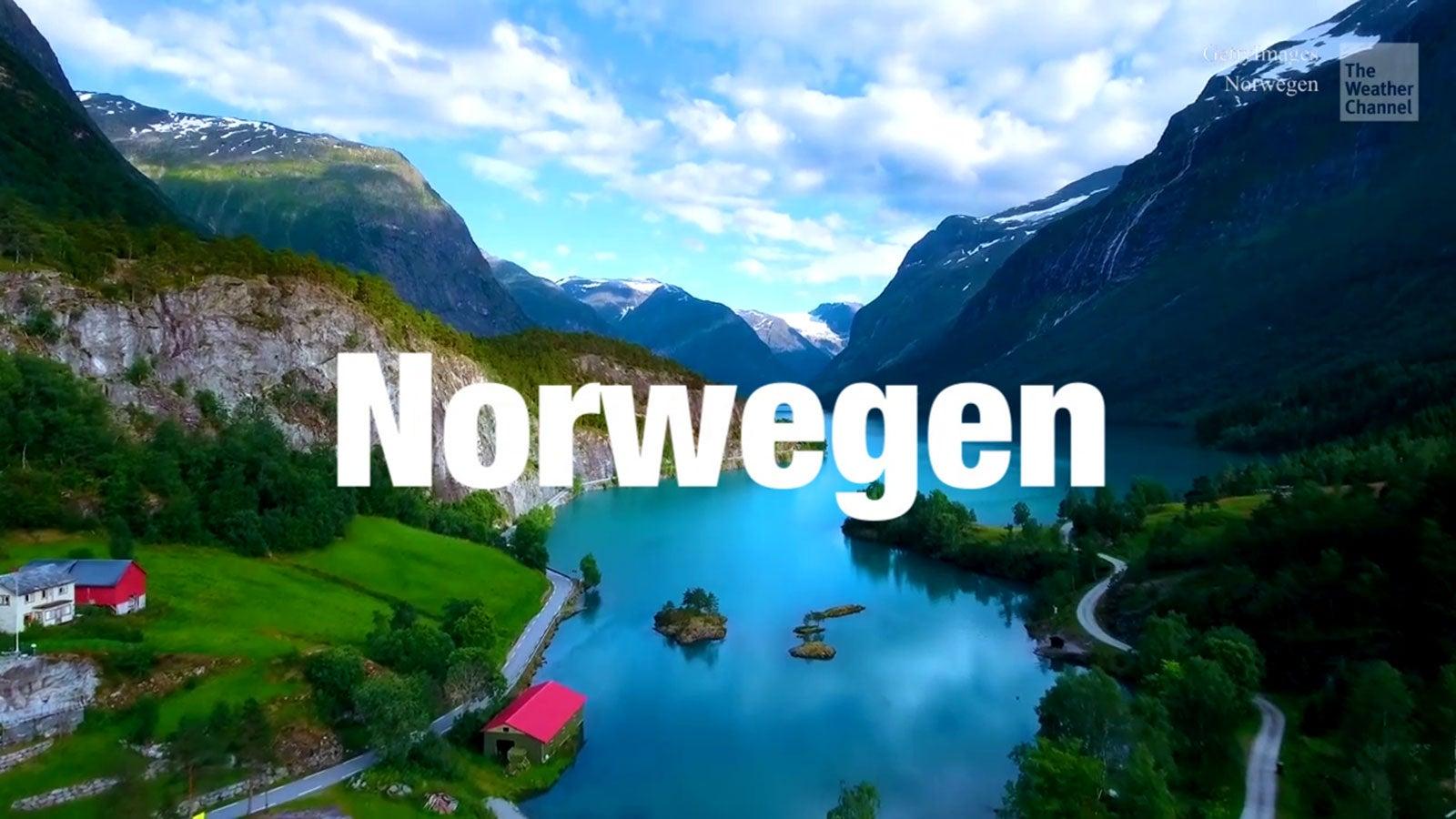 Virtuelle Reise durch Norwegen