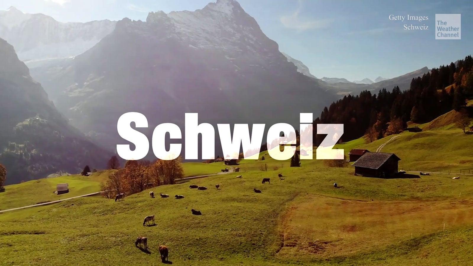 Virtuelle Reise durch die Schweiz