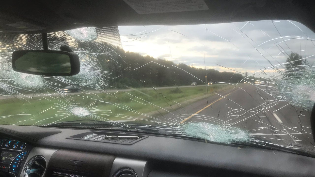 Cars Damaged by Baseball-Sized Hail as Severe Storms Pound Minnesota, Wisconsin