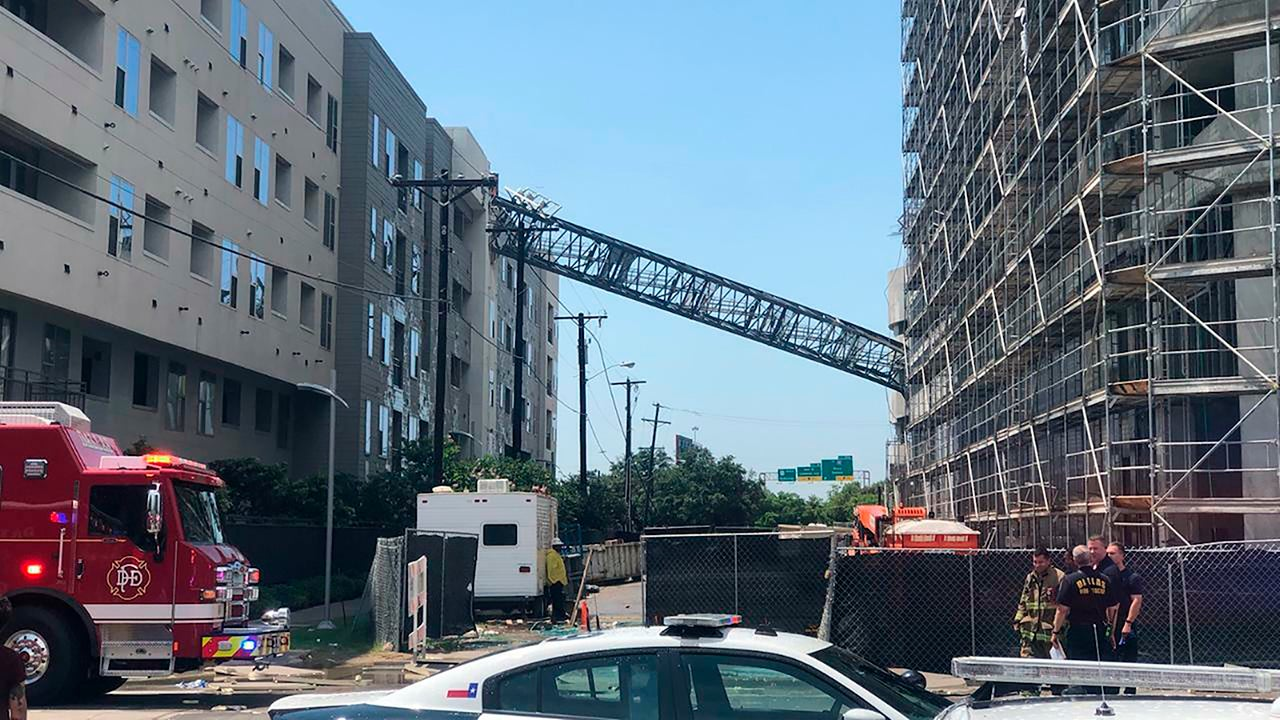Collapse Of Florida Condo Boom >> Dallas Crane S Computer Will Reveal Conditions At Time Of Fatal