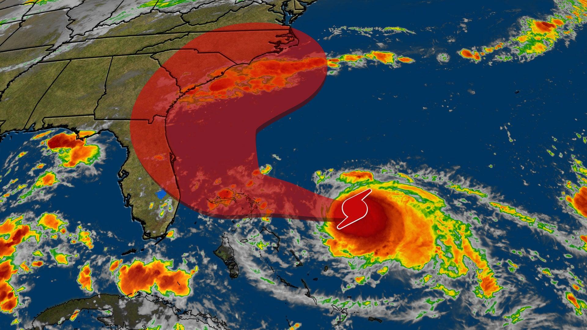 Emergencies Declared in Georgia and Carolinas as Hurricane Dorian's Track Shifts
