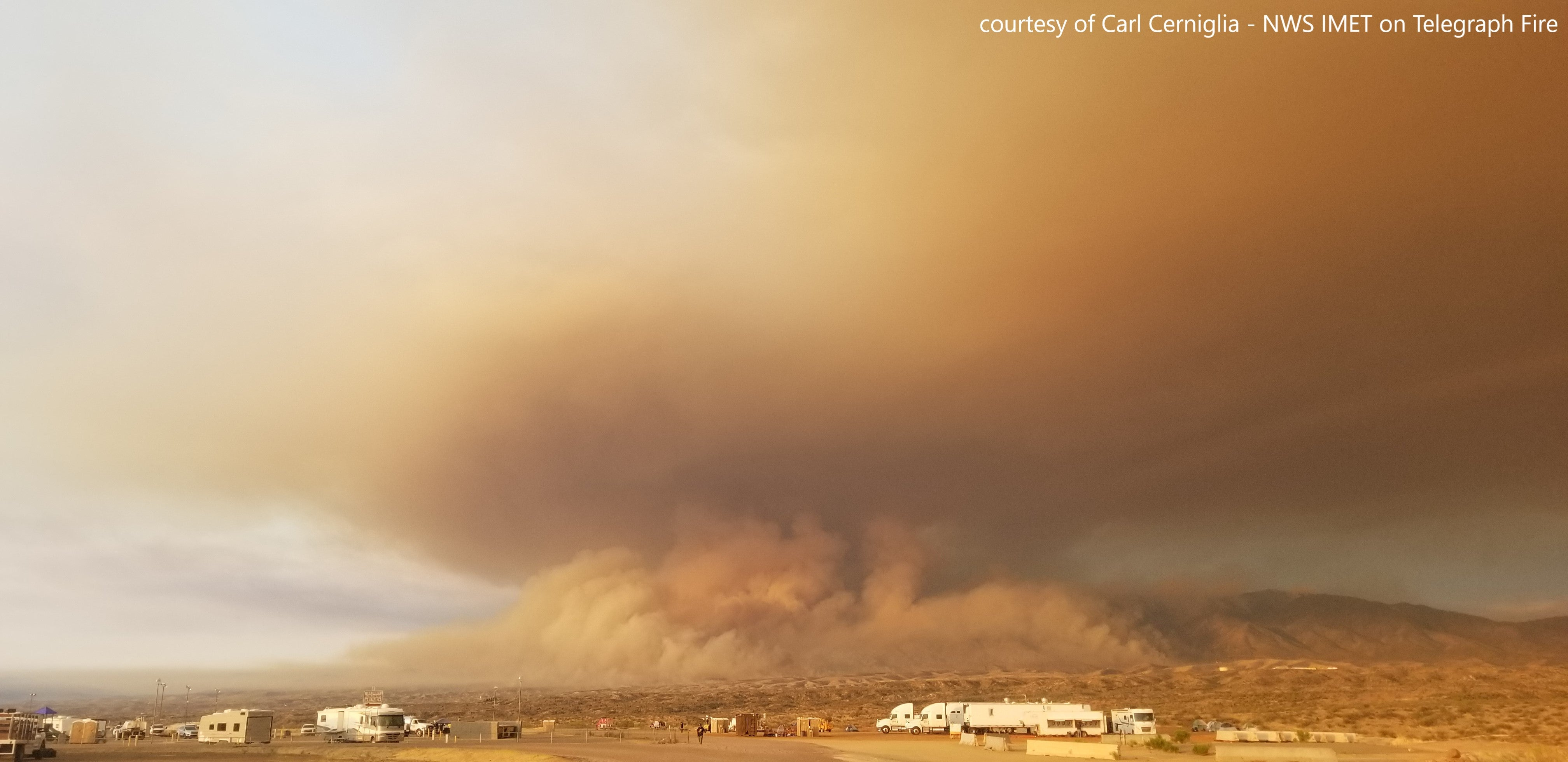 Telegraph Fire Continues to Burn in Central Arizona (PHOTOS)