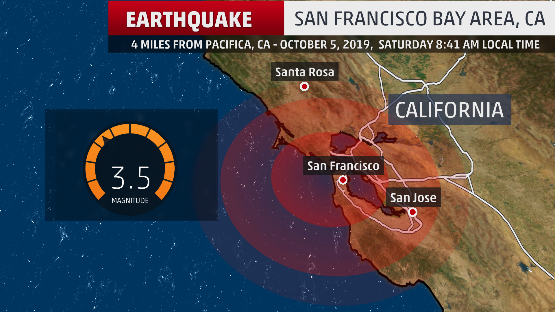 small earthquake shakes san francisco bay area