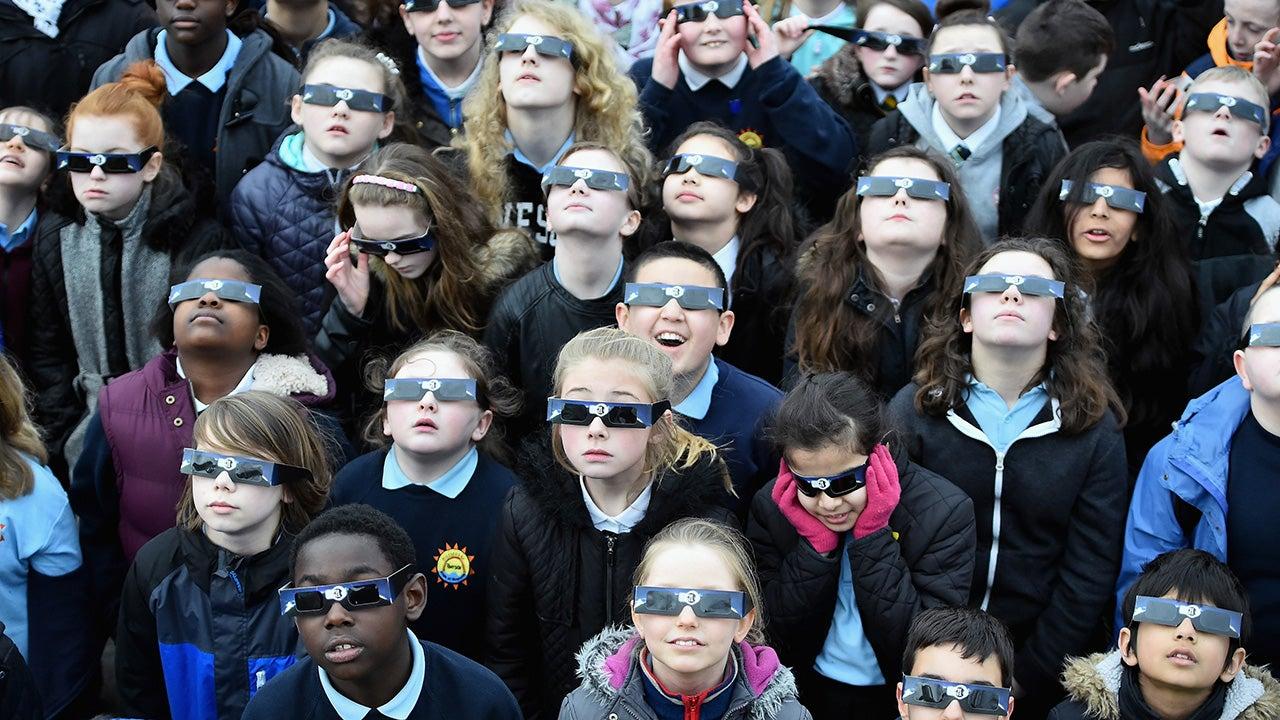 La eclipse manía se extiende por todo Estados Unidos