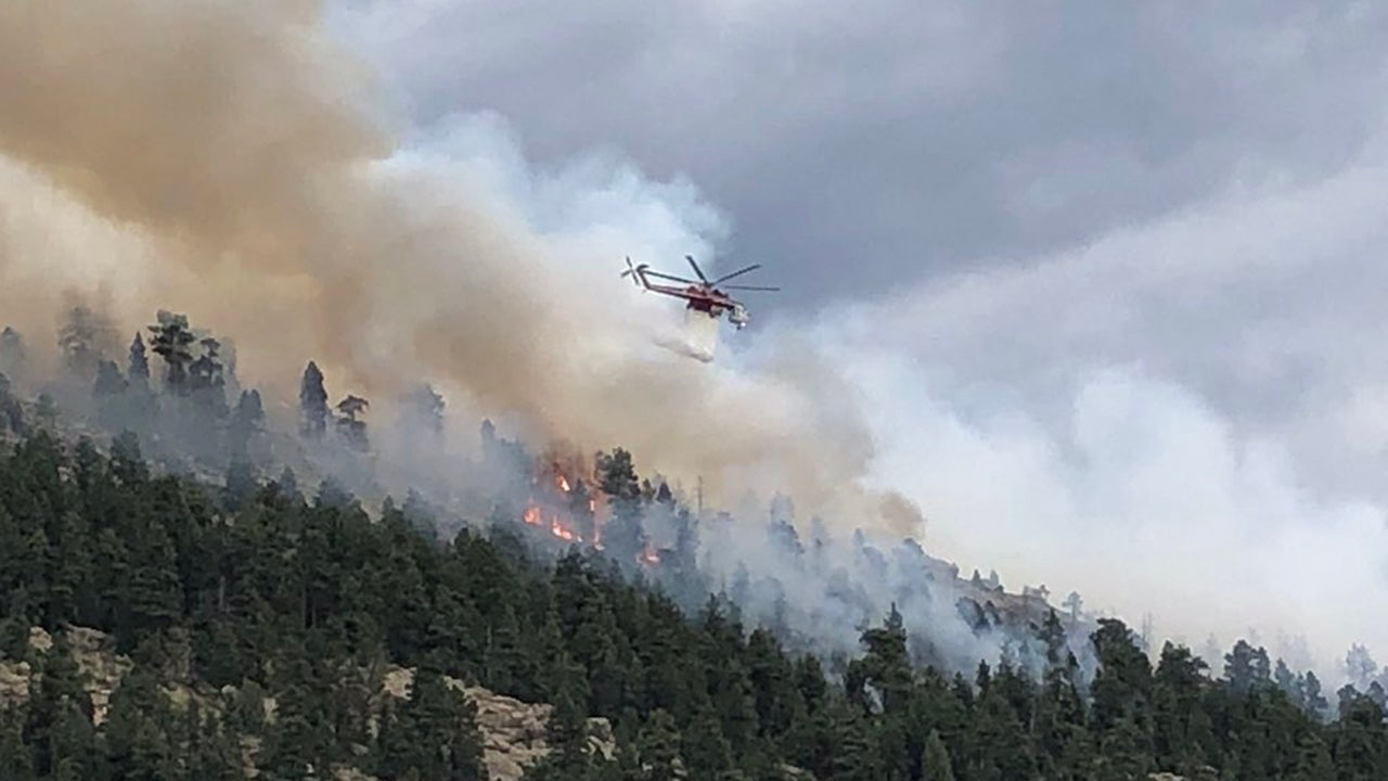 Colorado Wildfire Forces 1,000 Homes to Evacuate