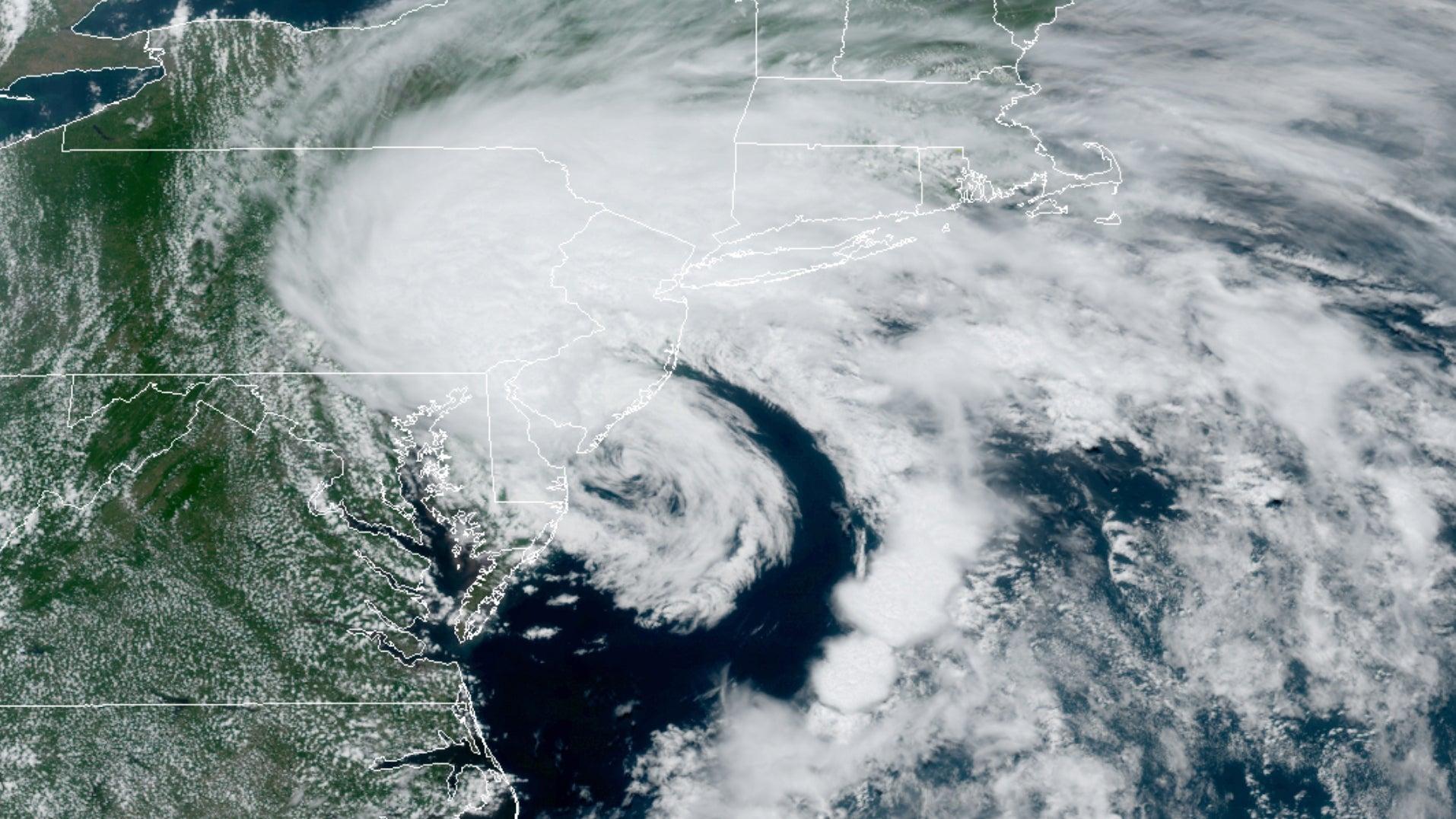 Tropical Storm Fay Drenches the Mid-Atlantic, Northeast (RECAP)