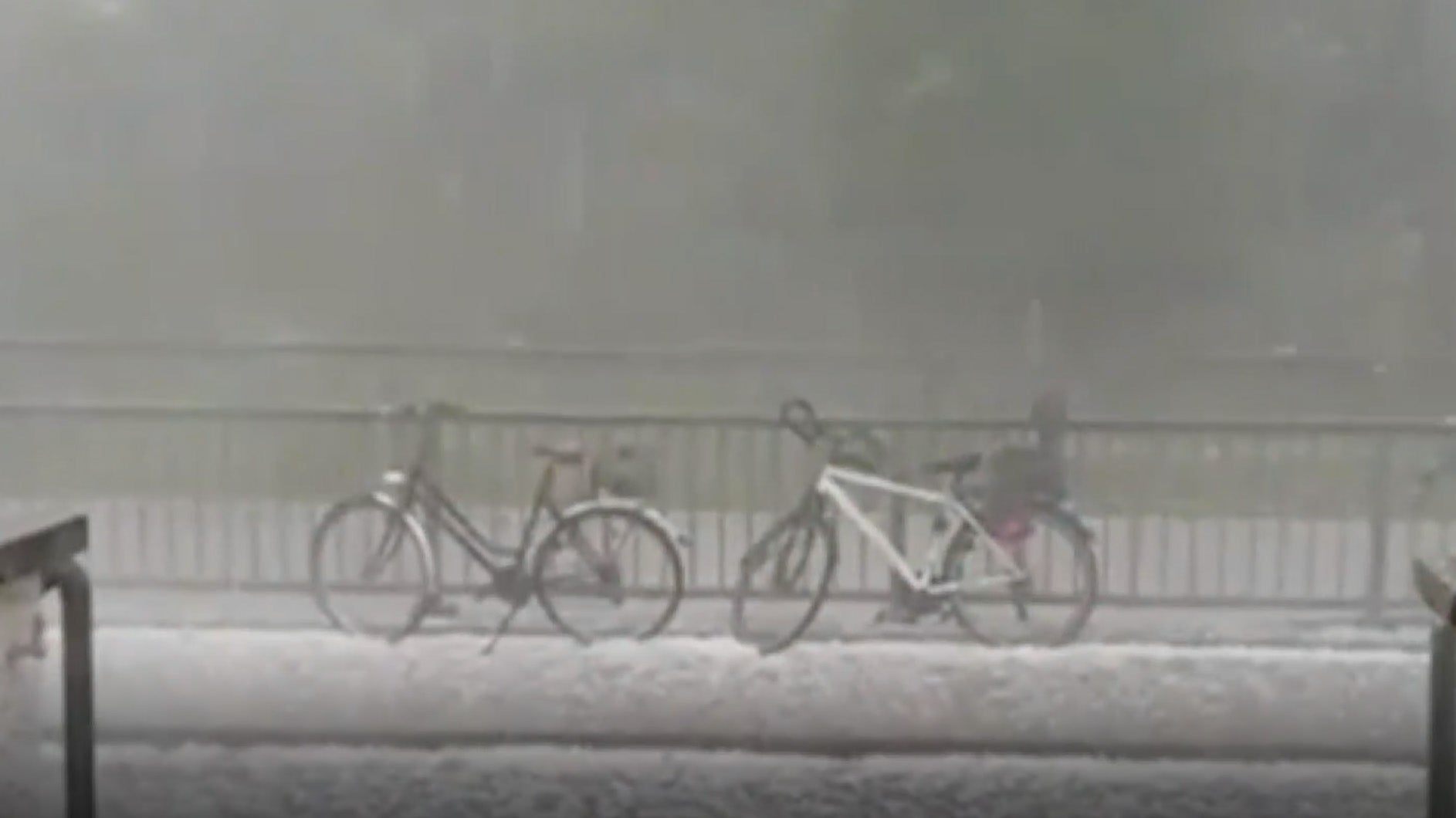 Several Injured as Hailstorm Hammers Southern Germany