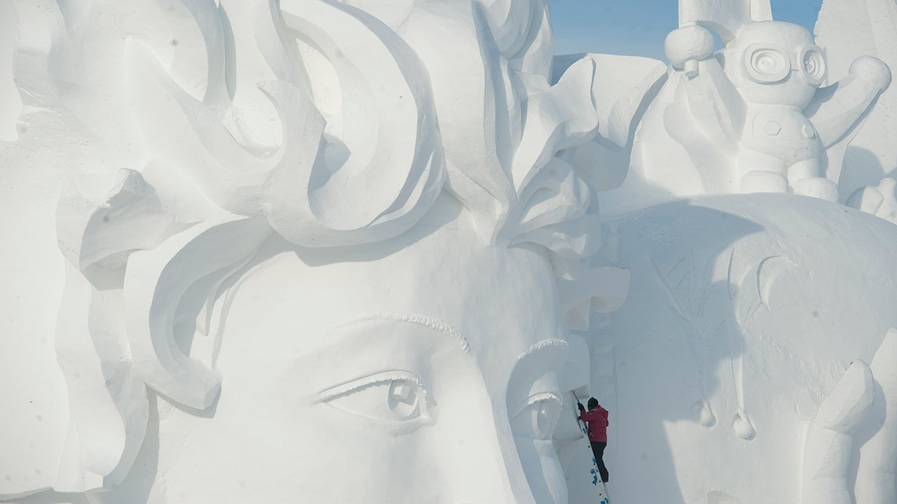 The Extreme Sculptures of the World's Largest Ice and Snow Festival