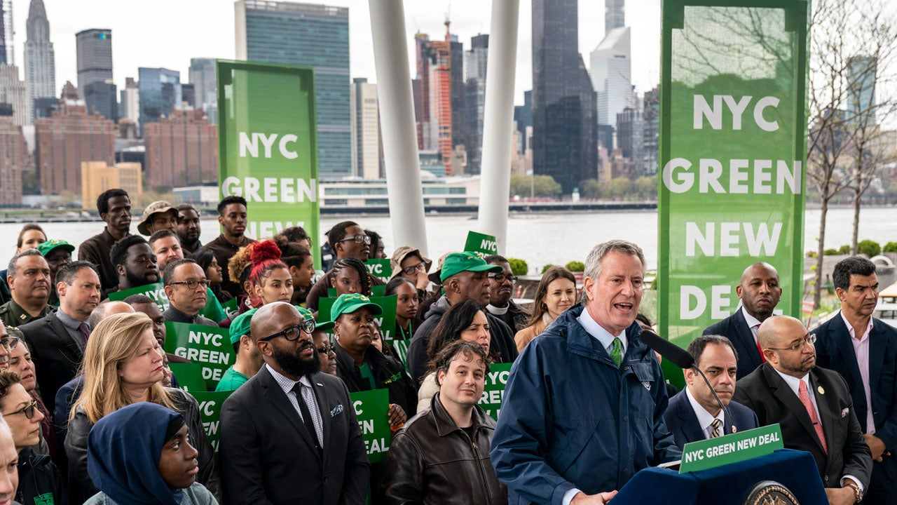 new york city declares a climate emergency