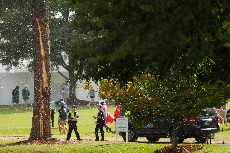 Lightning Strikes During PGA Tournament, Patrons Injured